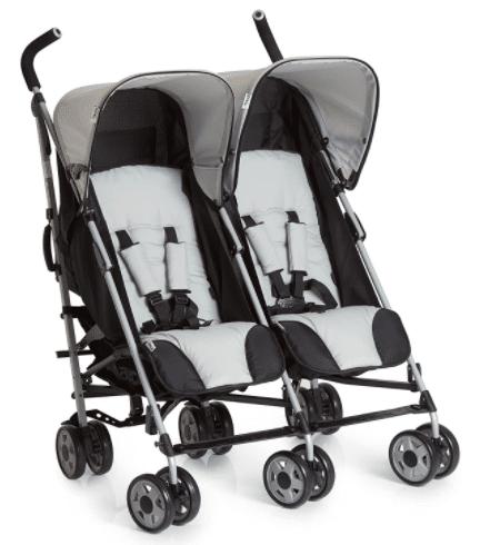عربة الأطفال المزدوجة هاك تربو دو من عمر يوم حتى 3 سنوات