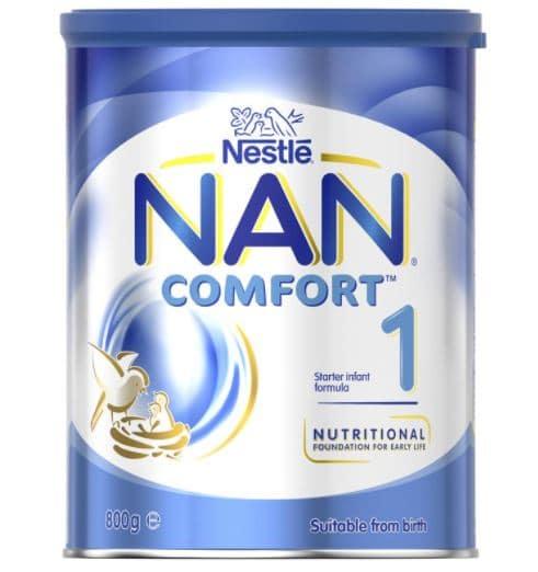 «نان كومفورت» أفضل أنواع فيتامين د للرضع مع الحليب الصناعي في المرحلة الأولى للرضّع