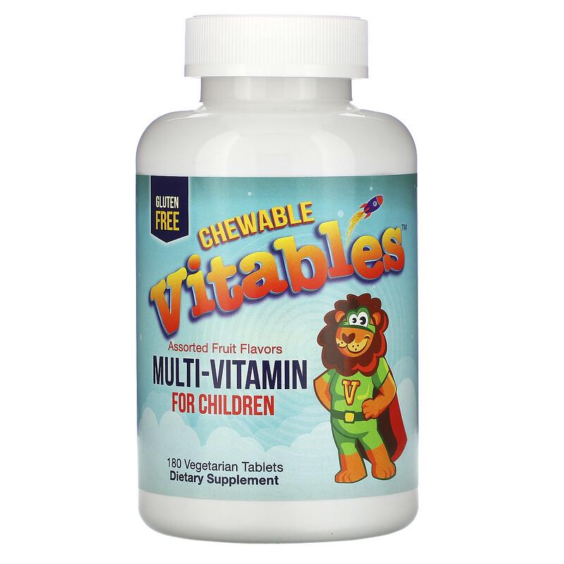 «Vitables» أفضل فيتامينات للأطفال على شكل حلوى