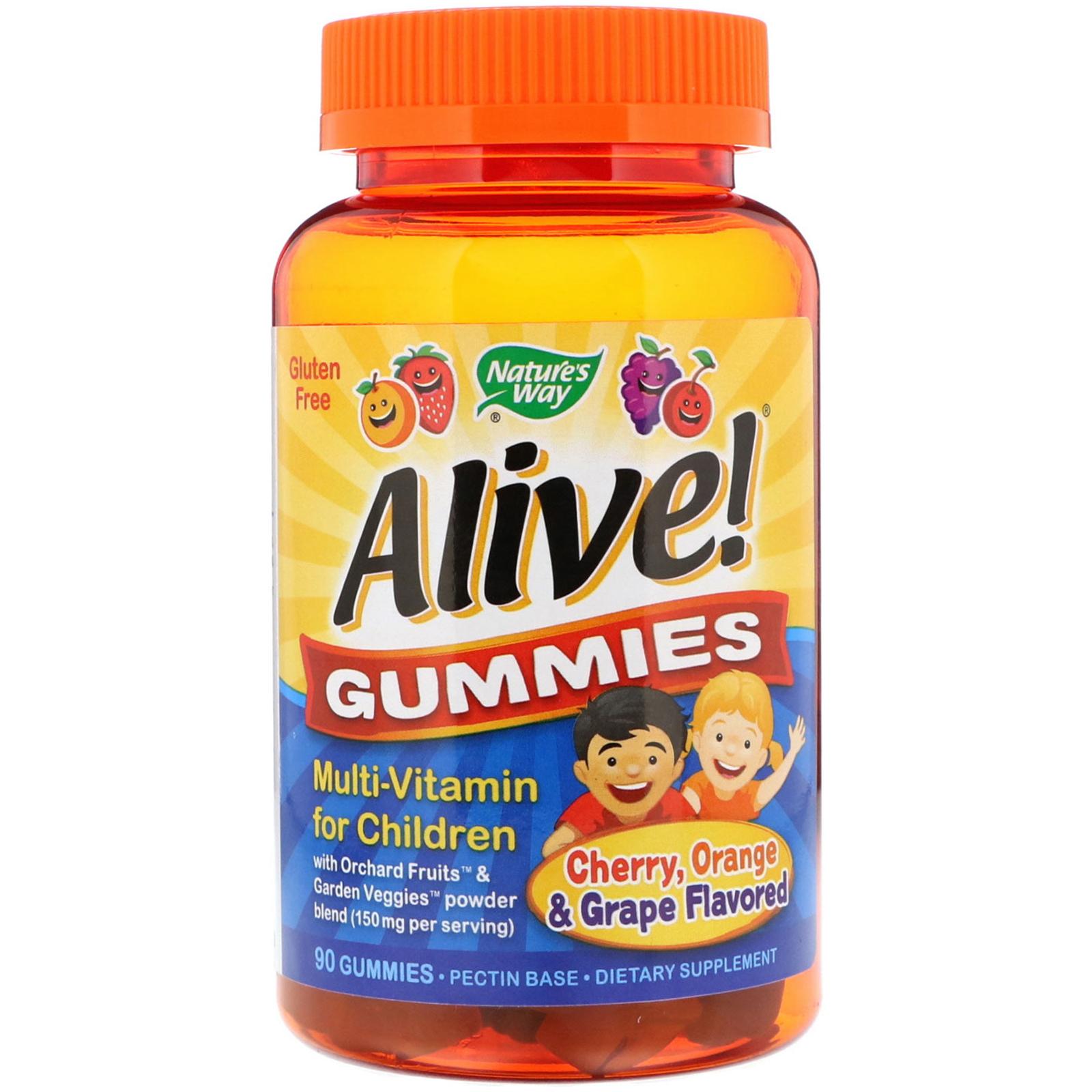 «Alive» أفضل مالتي فيتامين يومي لنمو الأطفال