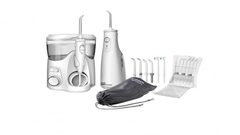 أفضل أنواع جهاز waterpik لتنظيف الأسنان بالماء