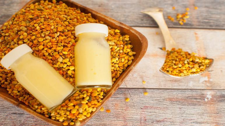 أفضل أنواع غذاء ملكات النحل السائل والكبسولات