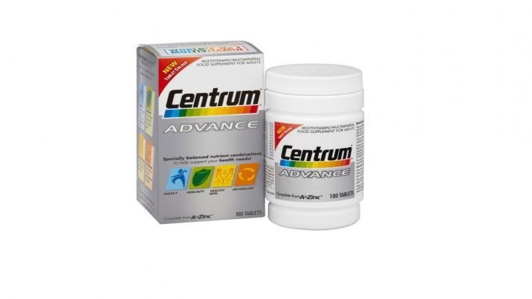 فوائد حبوب فيتامين سنتروم أدفانس Centrum Advance للرجال والنساء