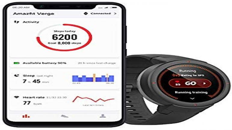 شاومي أماز فيت فيرج الرياضية من أفضل الساعات الذكية لعام 2020