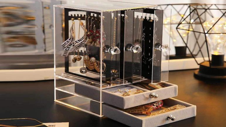 أفضل علب منظم الإكسسوارات والمجوهرات 2021
