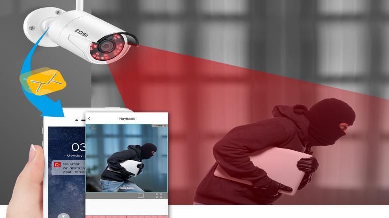 أفضل كاميرات المراقبة الصغيرة من الخارج عن طريق الجوال