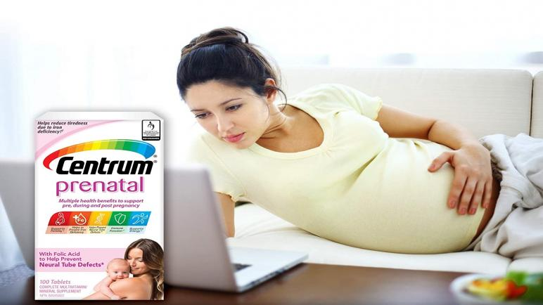 ما هي فوائد حبوب فيتامين سنتروم الأصلي للحمل؟