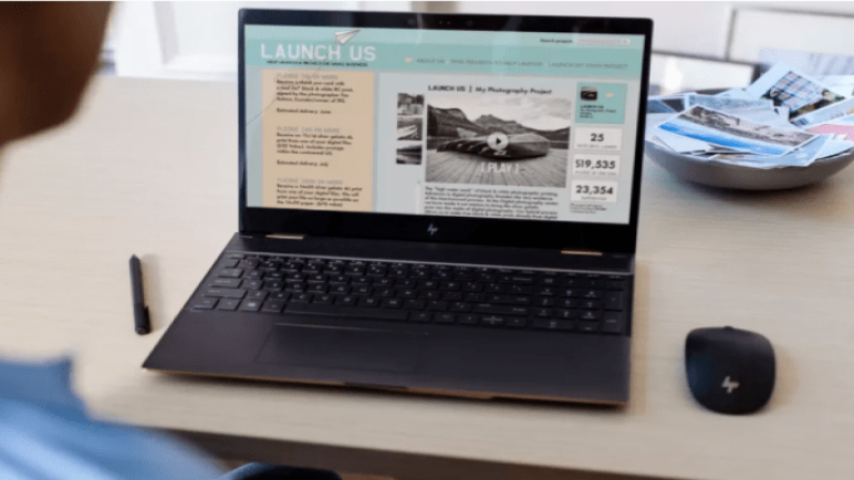مراجعة لاب توب اتش بي «HP SPECTRE x360»