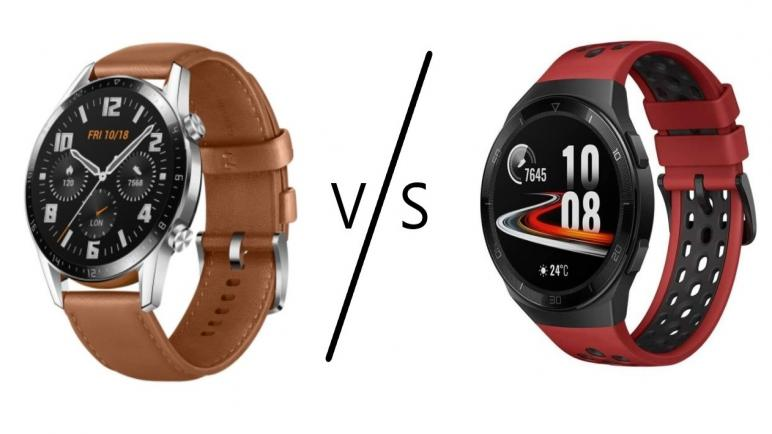 الفرق بين ساعة هواوي Gt2 وGt2e