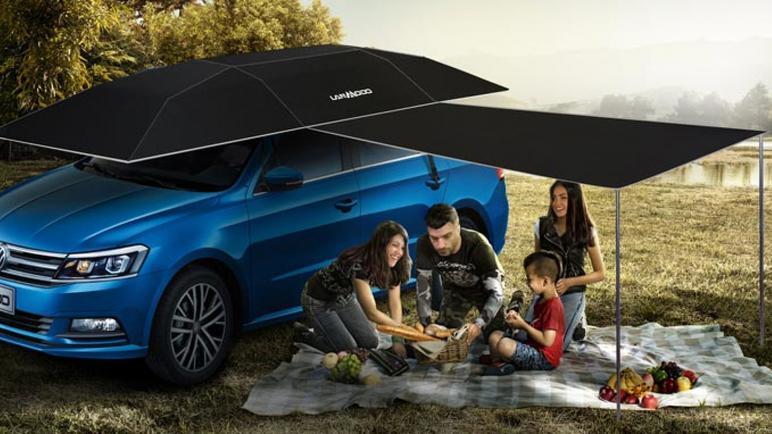 أفضل أنواع المظلات للسيارات المتحركة وبالريموت